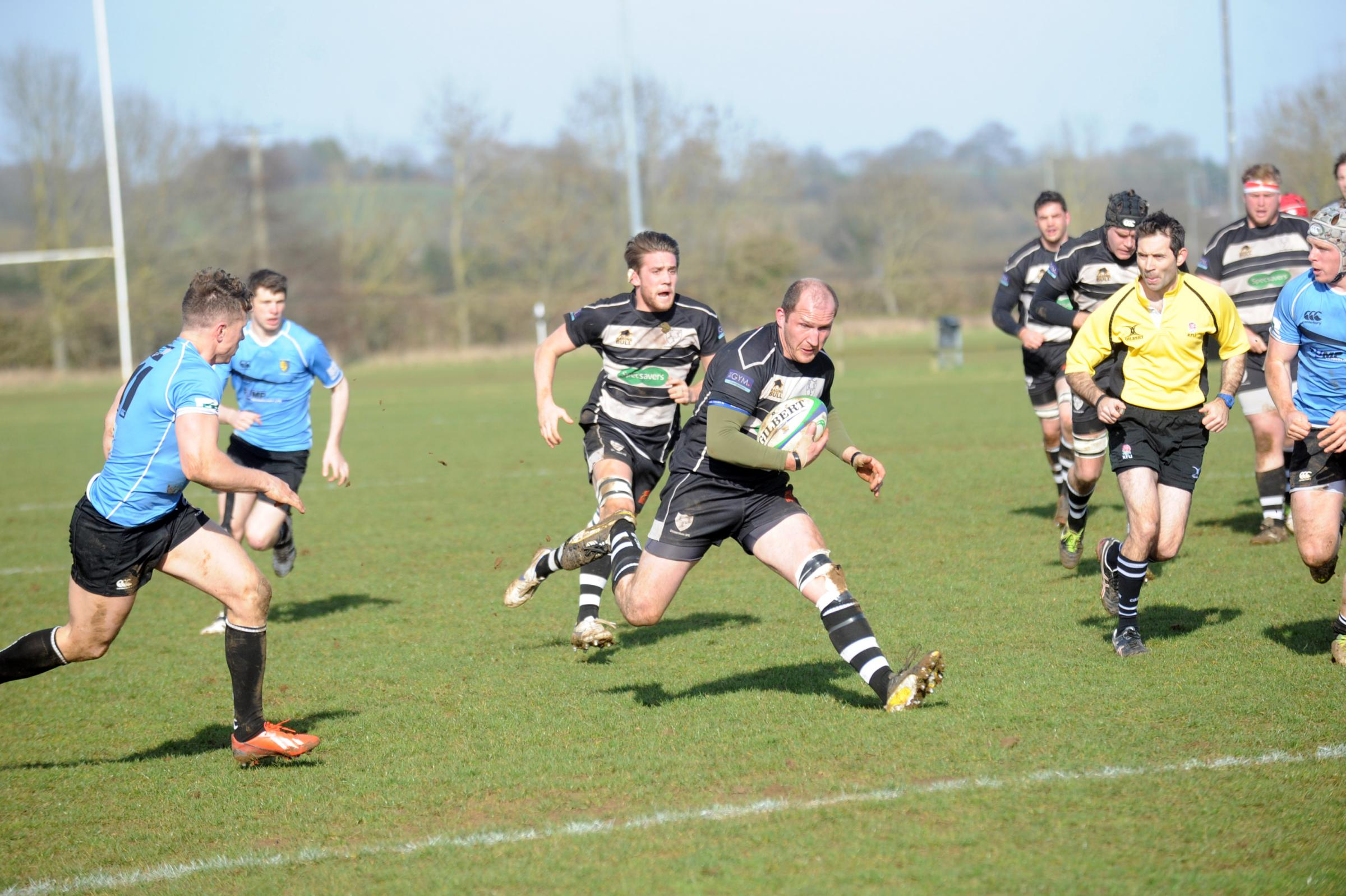 Ian Cook was a try scorer for Chippenham