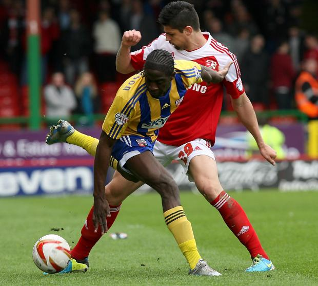 The Wiltshire Gazette and Herald: Raphael Rossi Branco has agreed a new, one-year deal with Swindon Town
