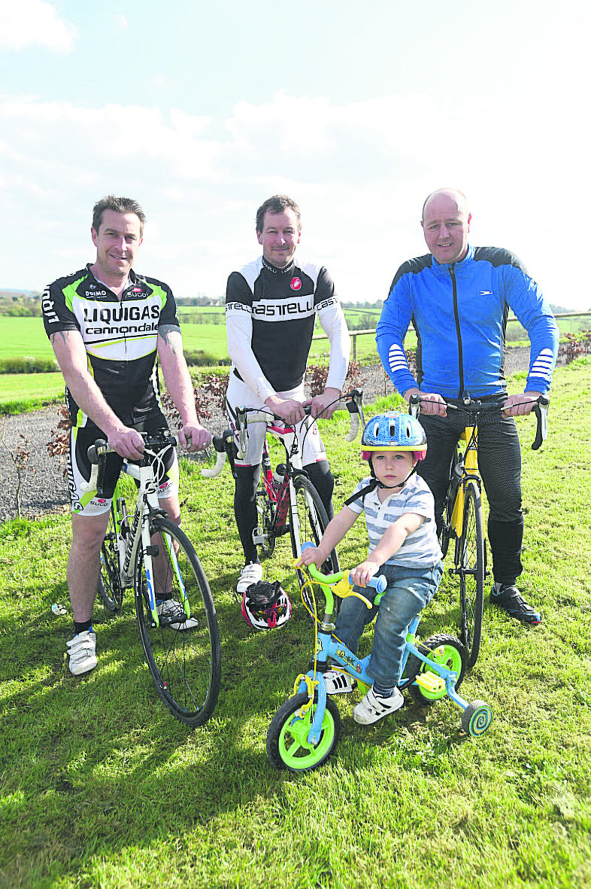 Lyneham father's goal to help his son walk