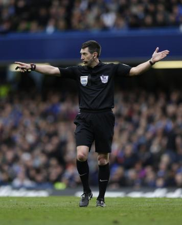 Lee Probert will referee next month's FA Cup final
