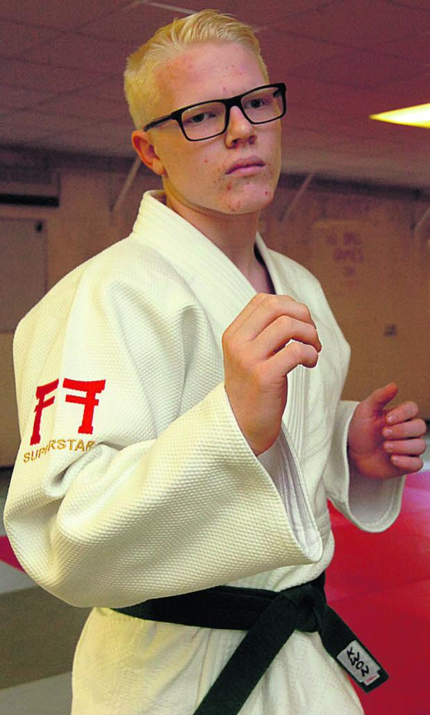 The Wiltshire Gazette and Herald: Devizes budo club's Evan Molloy has been picked up by the Great Britain visually-impaired squad