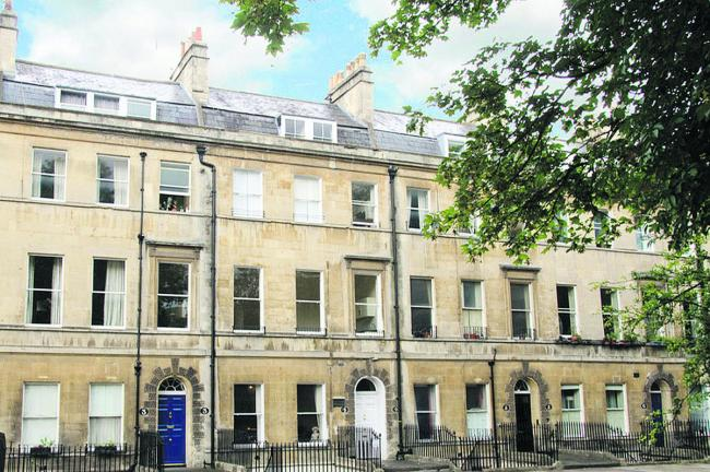 Jane Austen's former house in Bath