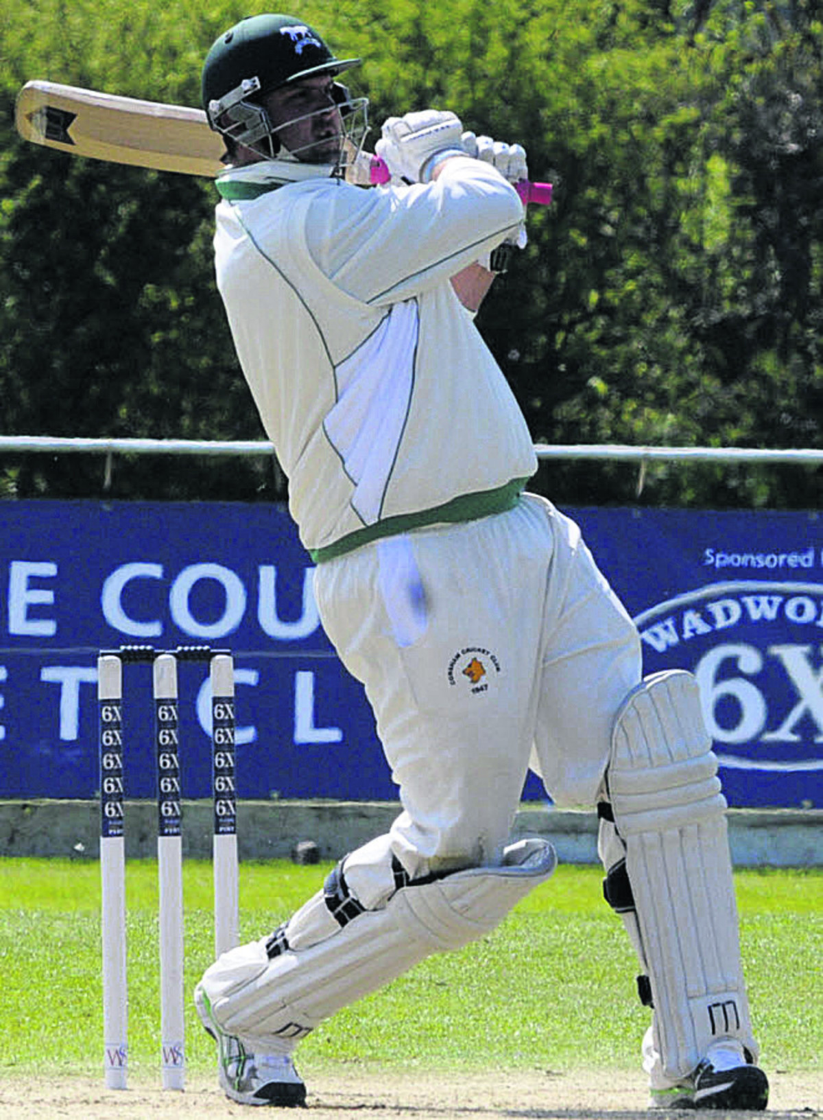 Wiltshire captain Mike Coles (batting) has returned to Corsham for the 2014 campaign
