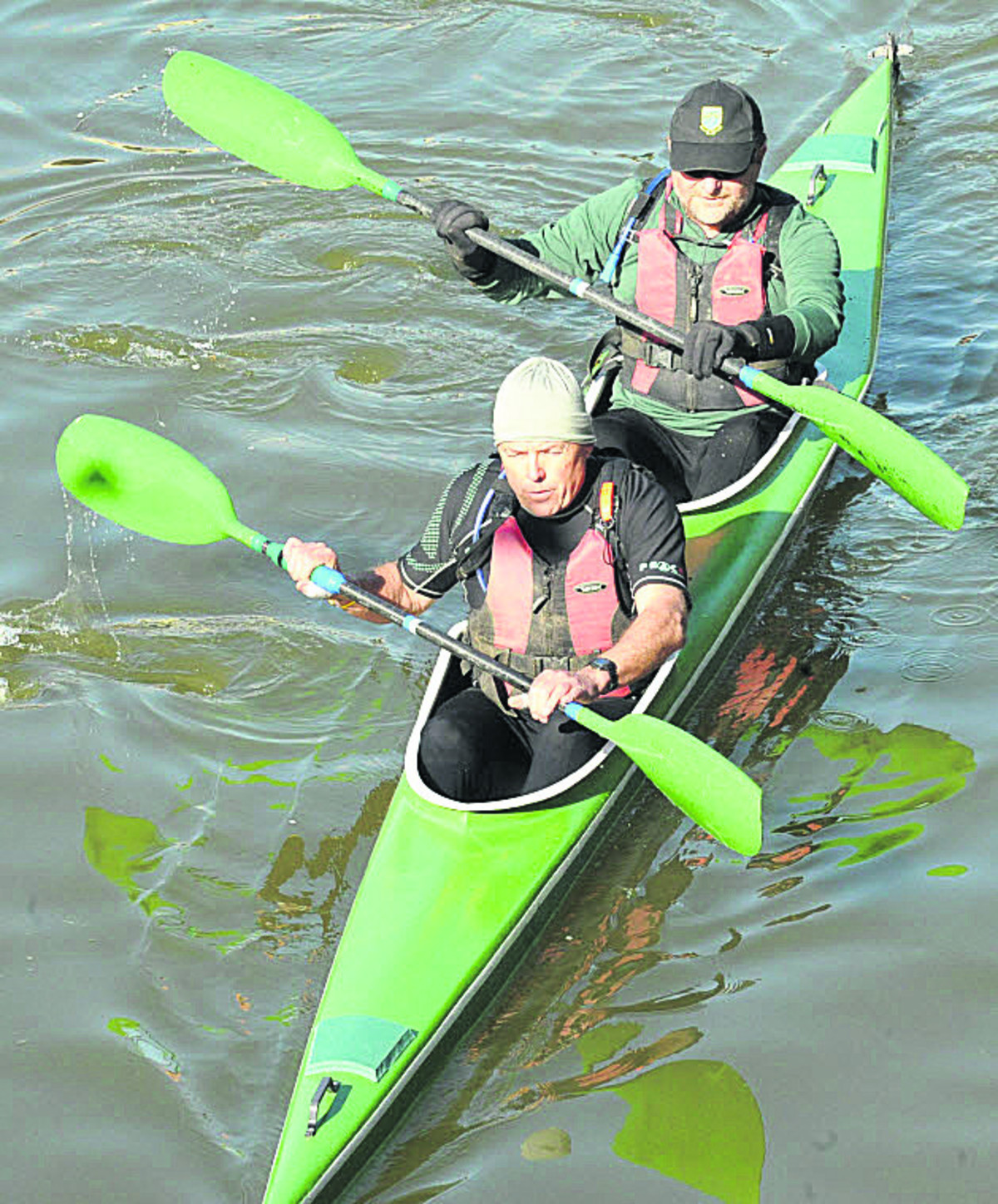 Race record for Devizes Canoe Club members
