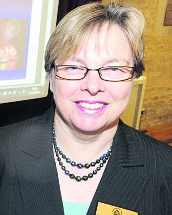 Sue Wilthew, chief executive of Chippenham Town Council