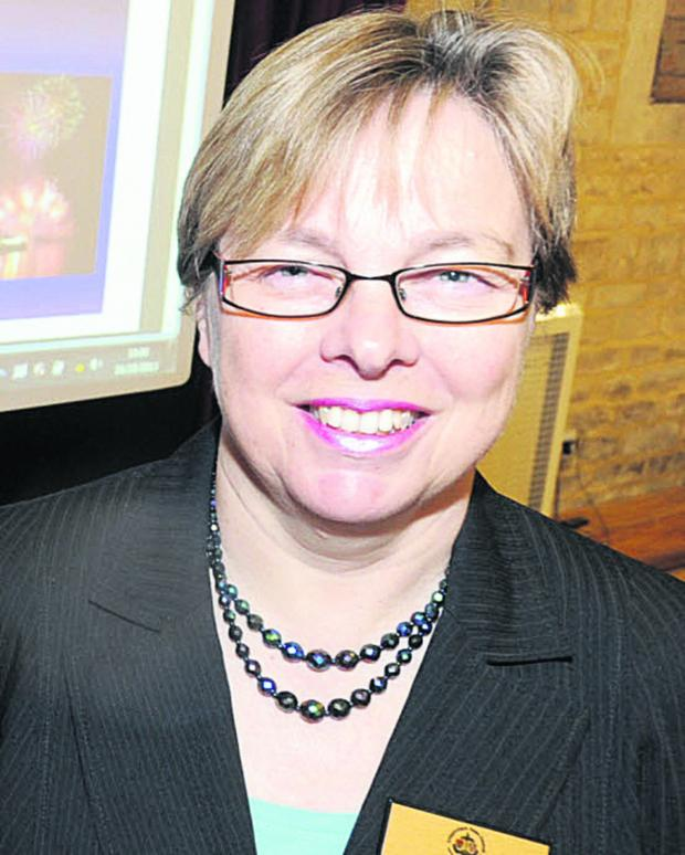 The Wiltshire Gazette and Herald: Sue Wilthew, chief executive of Chippenham Town Council