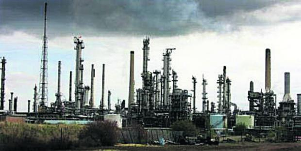 The Wiltshire Gazette and Herald: The Esso refinery at Fawley in Hampshire