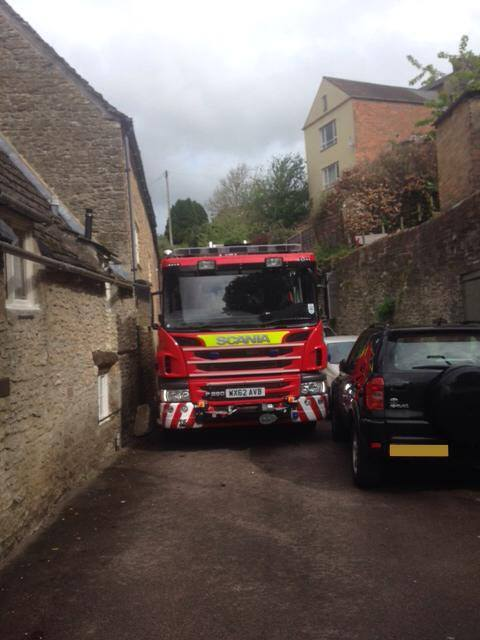 Emergency services frustrated by inconsiderate parkers
