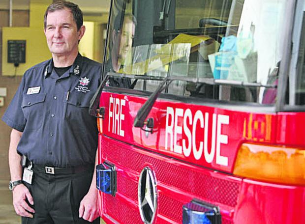 Simon Routh-Jones, Wiltshire Chief Fire Officer
