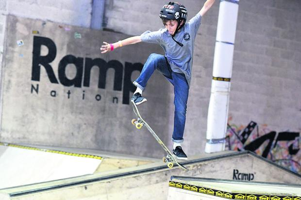 Devizes hosts first round of this year's Wiltshire Skate Series