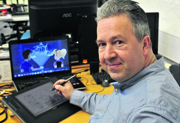The Wiltshire Gazette and Herald: Former Disney animator has a new adventure
