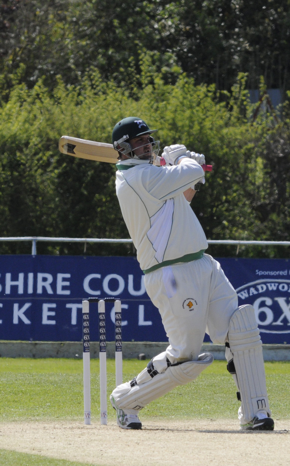 Mike Coles scored 67 in Corsham's win over Frocester