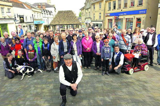 Five-mile trek marks centenary of closure