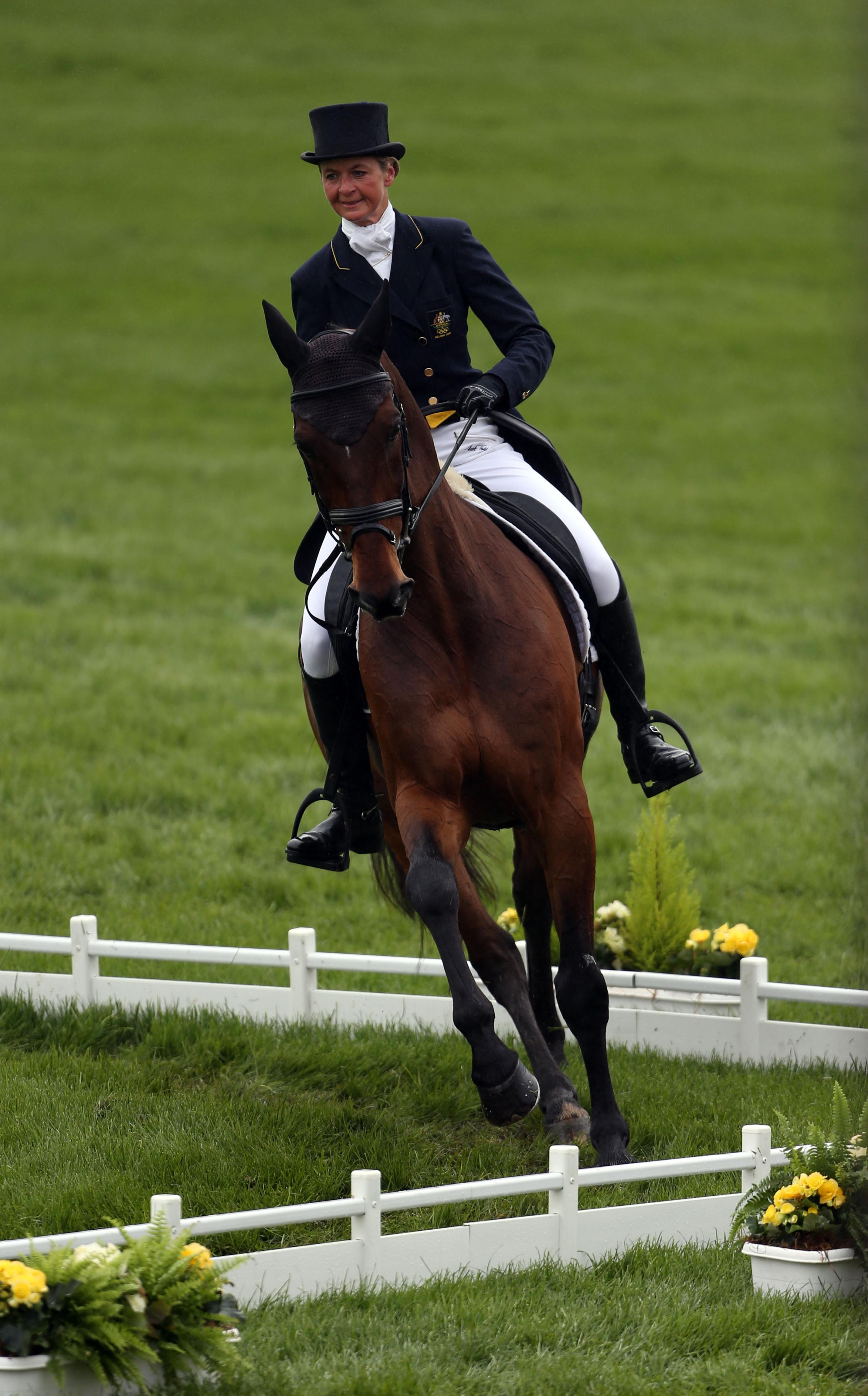 BADMINTON HORSE TRIALS: Whittington ahead after day one