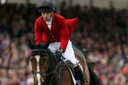 Harry Meade and Wild Lone at this year's Badminton Horse Trials, where they finished third