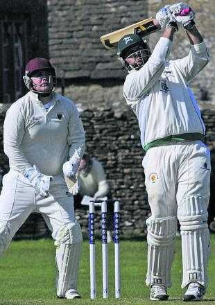 Mike Coles scored 150 in Corsham's victory