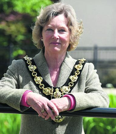 Calne's new mayor, Heather Canfer