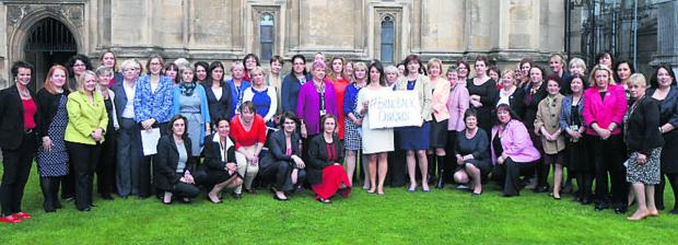 The Wiltshire Gazette and Herald: Cross-party women MPs, including Devizes