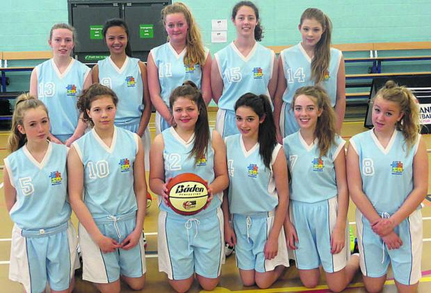 The St John's basketball team, who were runners up in the national U16 championships in London