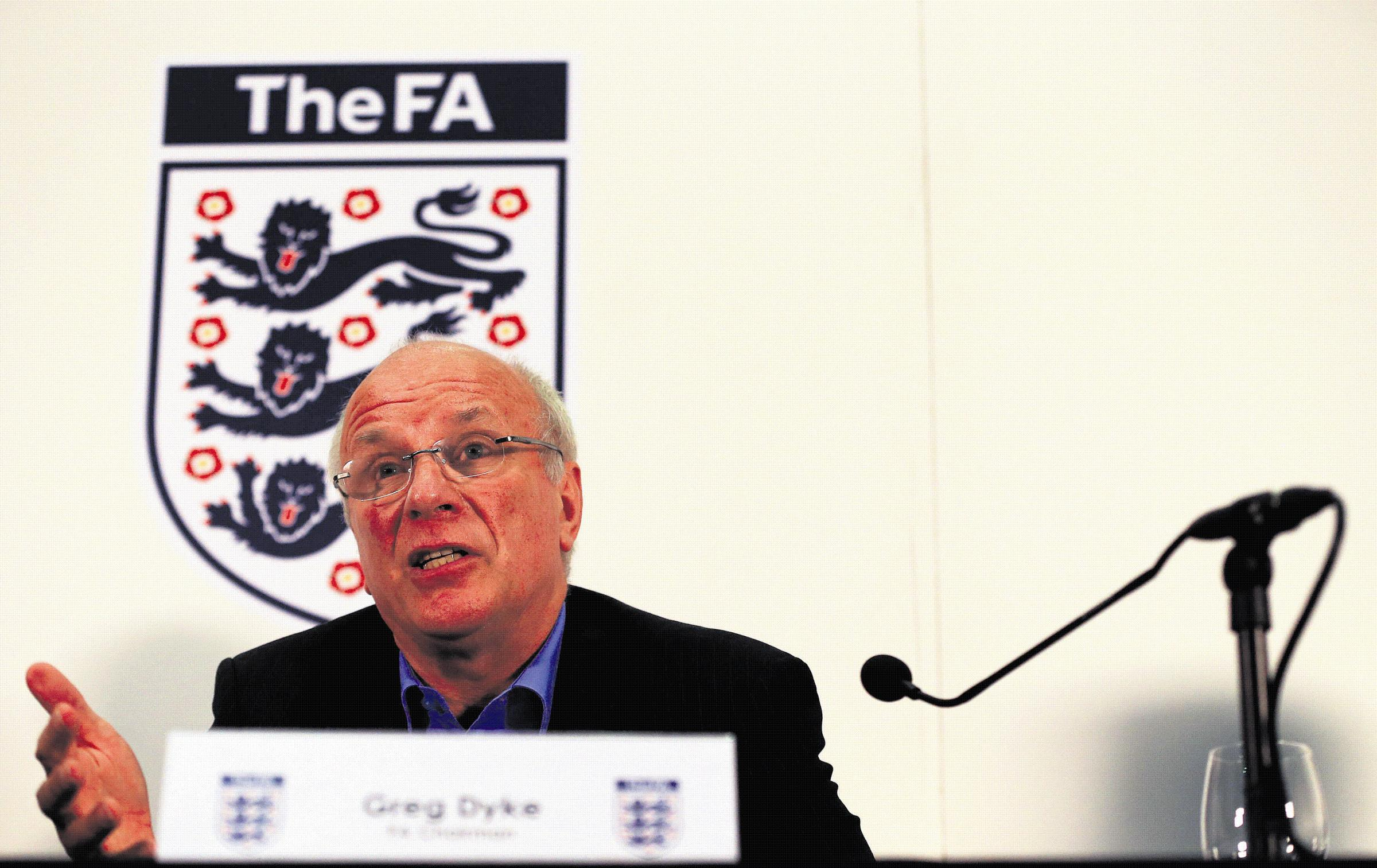 Greg Dyke announces his FA commission's plans for the future of English football