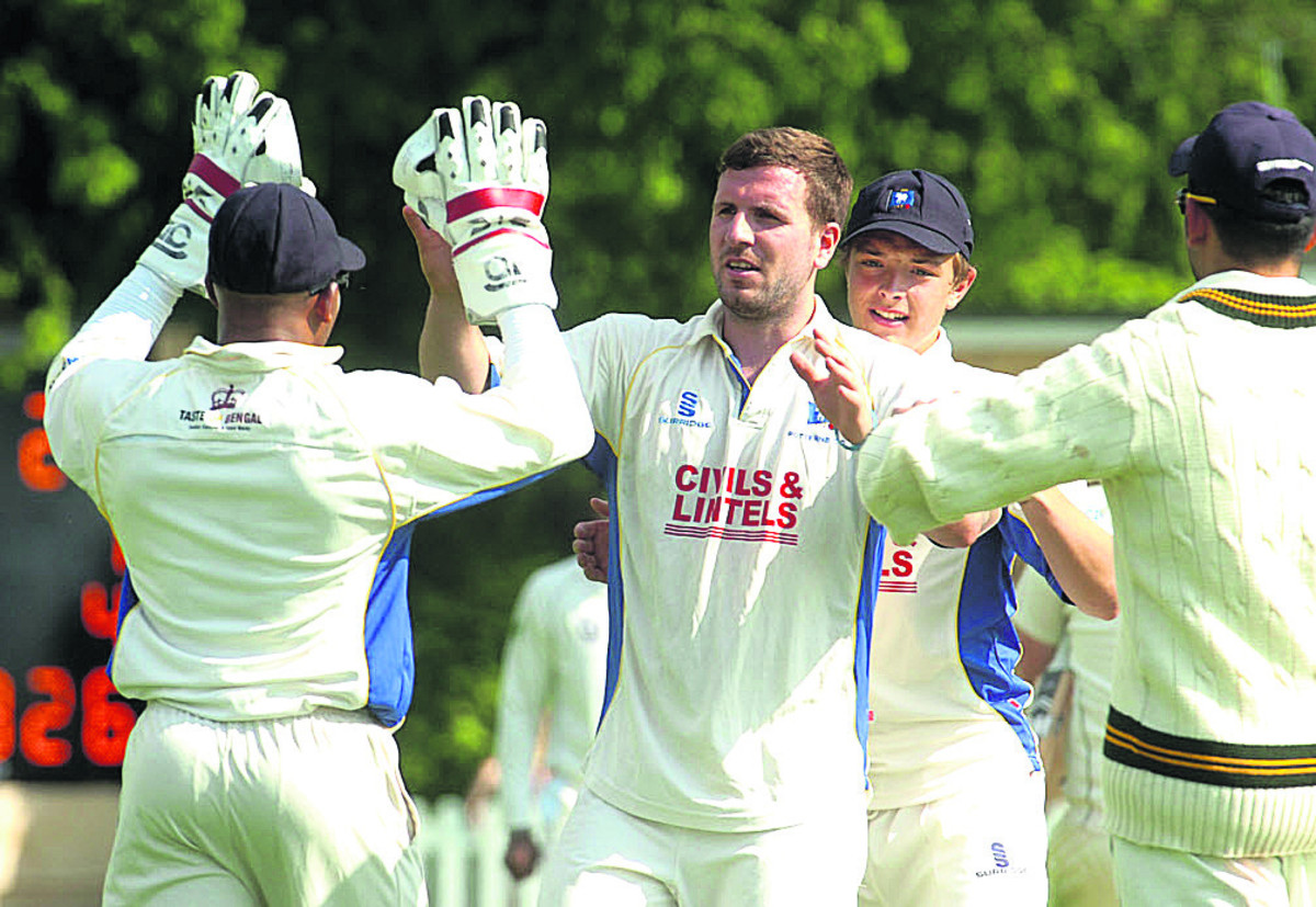 Jake Roberts claimed four Dorset second-innings wickets in Wiltshire's victory