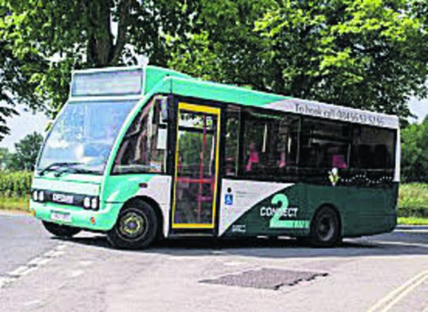 The Wiltshire Gazette and Herald: Wiltshire Council is proposing major money-saving changes to the Connect2Wiltshire bus services