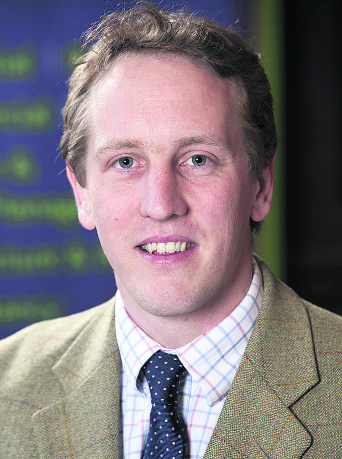 Rural surveyor Ben Myerscough, of Carter