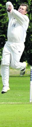 Wiltshire's Joe King took two wickets