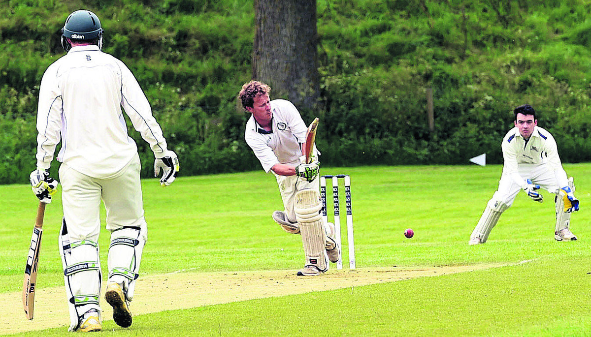 Avebury's John Rheinberg flicks a shot during his side's 50-run triumph over Heytesbury & Sutton Veny in Division Three on Saturday