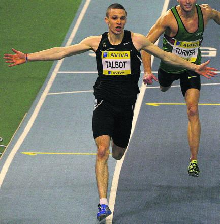 Danny Talbot finished seventh in the men's 200 final at the Commonwealth Games tonight
