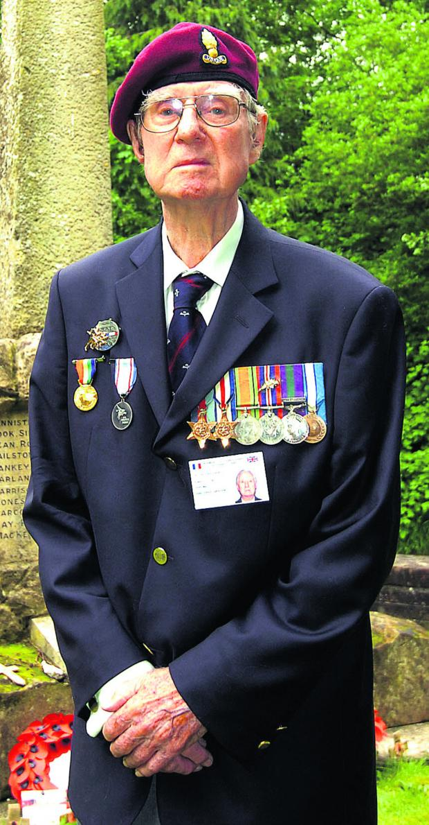 The Wiltshire Gazette and Herald: Major Alan Graham as he is today