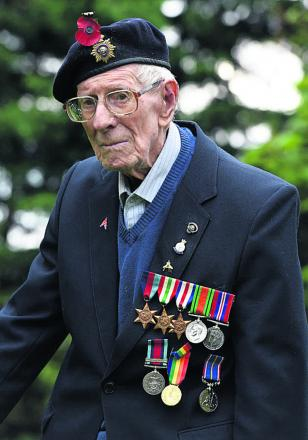 Leonard Holloway, 99, played a vital role in keeping the front line supplied with ammunition on D-Day