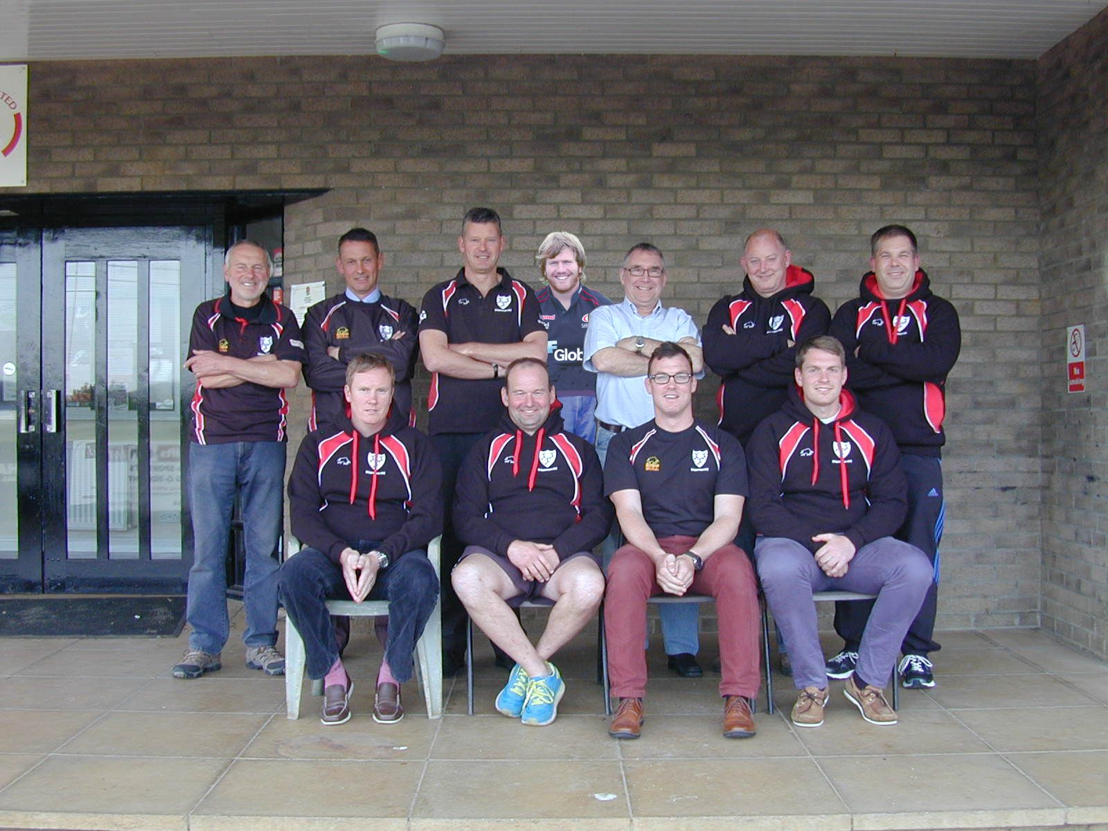 Chippenham's new coaching team