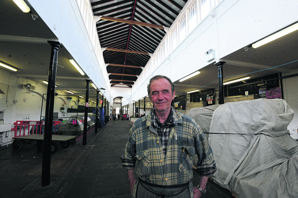 Shambles trader Bill Huntly is uncertain about a proposal to put new units into the market