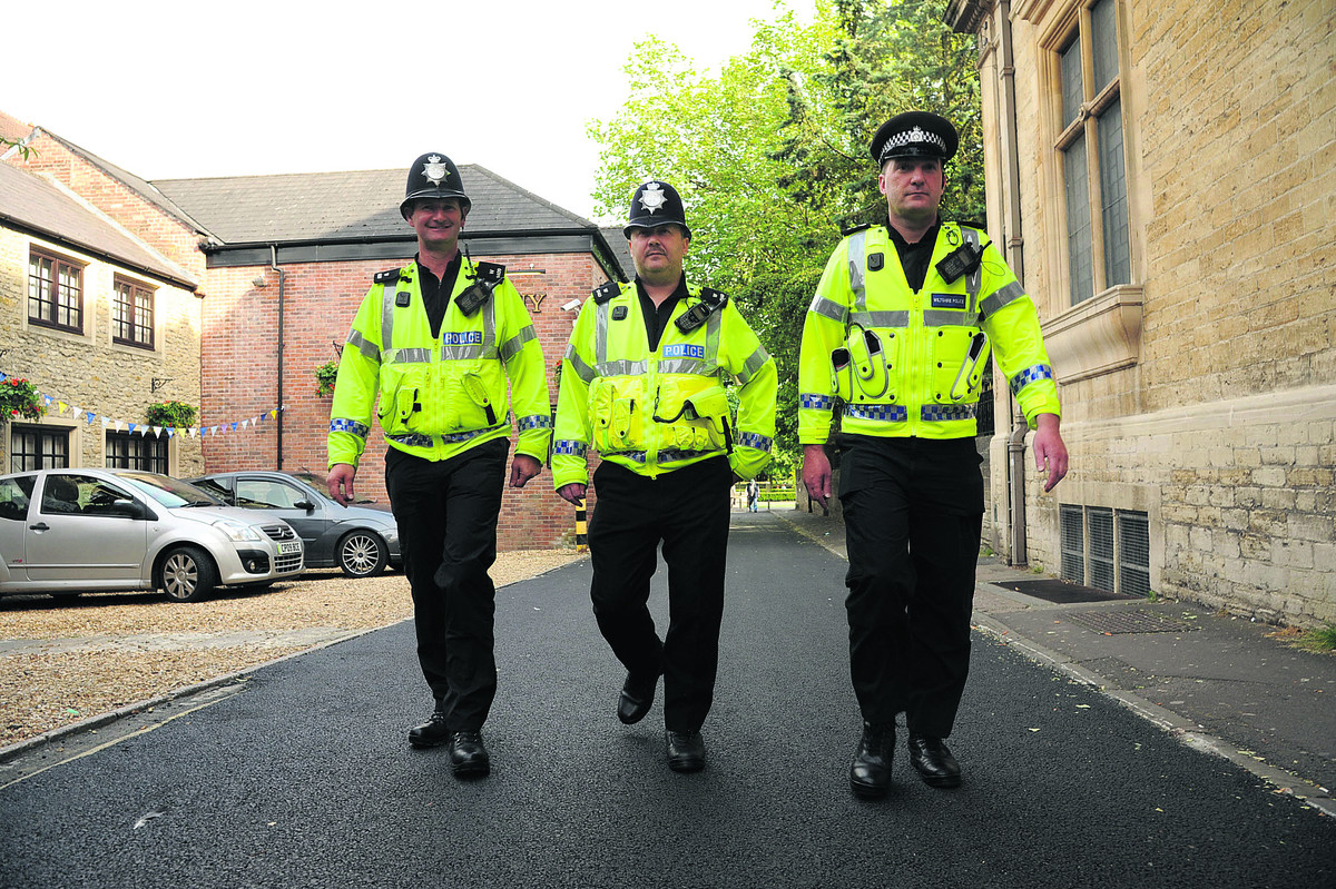 Wiltshire police are increasing patrols ahead of tonight's match