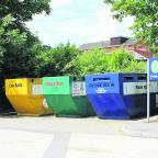 The Wiltshire Gazette and Herald: One of the mini recycling centres