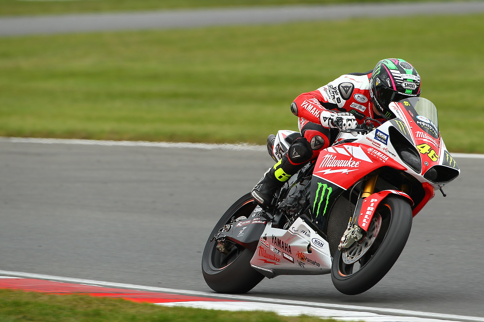 Tommy Bridewell, in action at Snetterton today