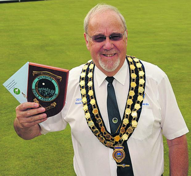 Wiltshire Bowls president Dave Richards Photo: Trevor Porter (49936-3)