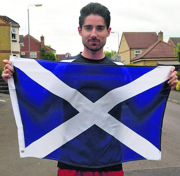David Bishop, from Chippenham, has been selected to run the 1500m for Scotland at next month's Commonwealth Games Picture by Vicky Scipio (VS414-3)