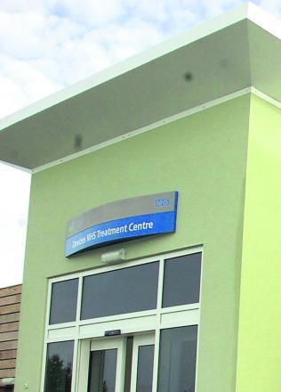 The NHS Treatment Centre in Devizes
