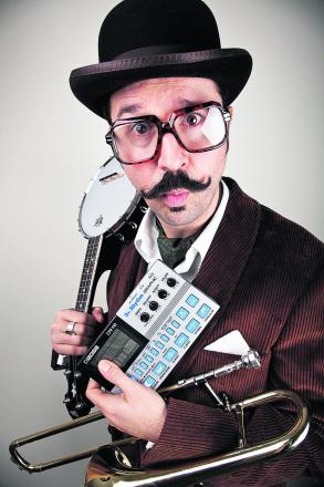 An entertaining night but Gentleman Rhymer Mr B suffered from poor sound at Devizes Town Hall
