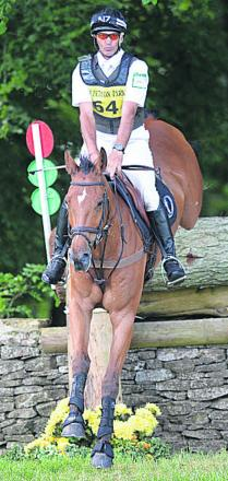Andrew Nicholson rides Ulises at last weekend's Salperton Horse Trials (Picture: Phil Johnson)