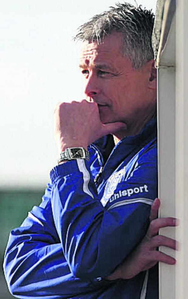 The Wiltshire Gazette and Herald: Chippenham Town boss Mark Collier