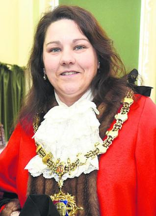 Devizes mayor Sarah Bridewell