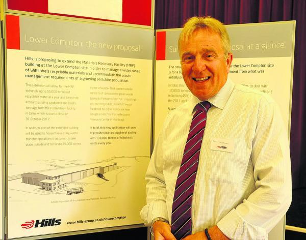 The Wiltshire Gazette and Herald: Hills boss Mike Webster was on hand to answer concerns
