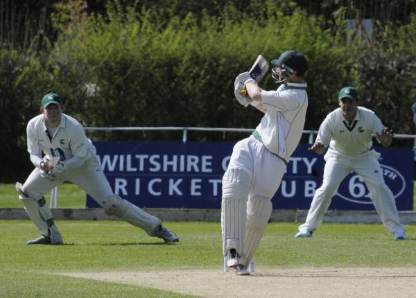Henry Langford helped guide Wiltshire to victory at Berkshire today