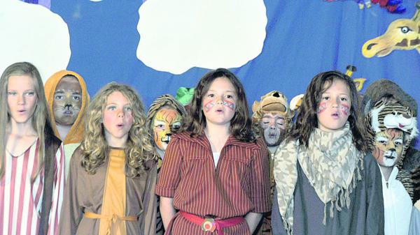 Production of Noah's Ark is animal magic at Cherhill Primary School