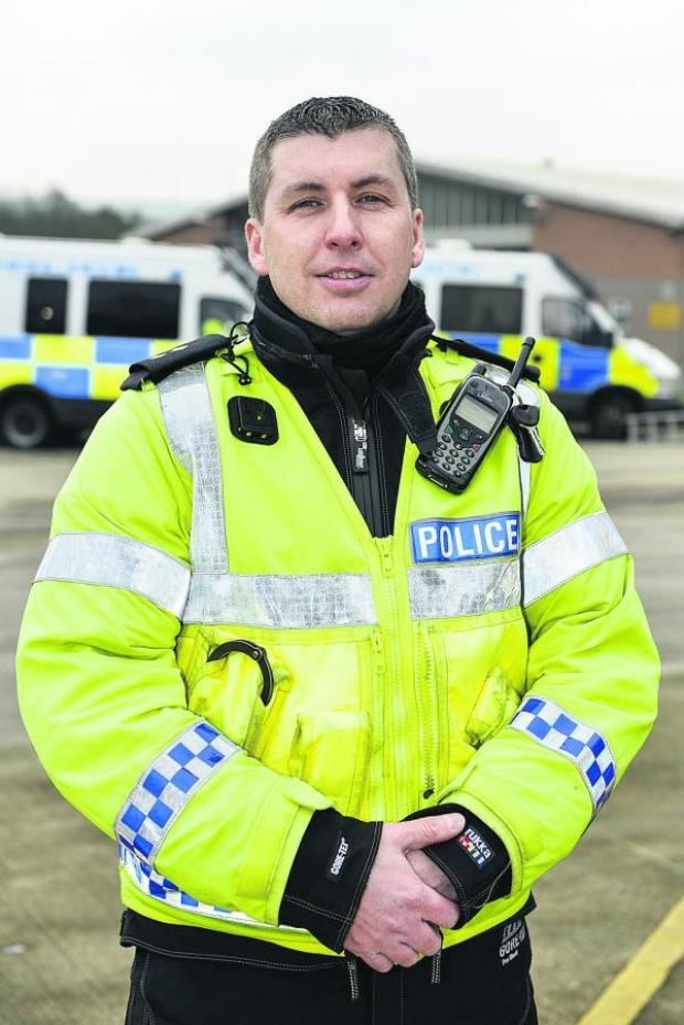 The Wiltshire Gazette and Herald: Inspector Steve Cox