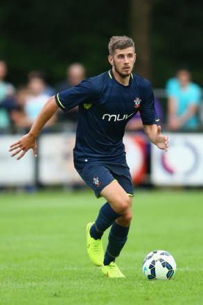 Jack Stephens in action for the Saints in pre-season
