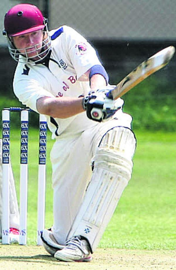 Toby Horton hit a half-century in Goatacre's defeat to Thornbury
